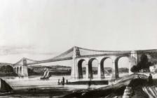 Menai Bridge, c. 1830s