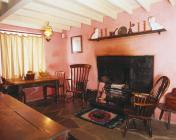 The kitchen/living room, Highgate, Llanystumdwy...