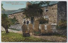 Postcard of Hedd Wyn's home, 'Yr...