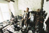 The workshop of Richard Lloyd, shoemaker (David...