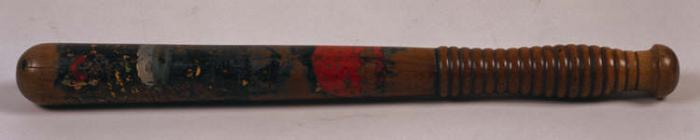 Radnorshire Constabulary truncheon, 1912