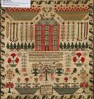 Sampler made by Mary Lewis, 2 July 1834