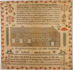 Sampler made by Ann Stott, Newchurch,...