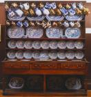 Dresser and contents from Cil-y-cwm, 18th century
