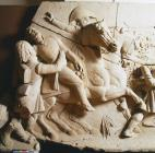 Bas-relief scene from the Picton Monument:...