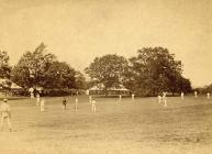 Montgomery Cricket team playing the 'All...