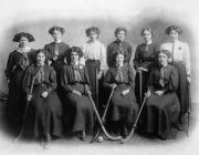 Montgomery Ladies Hockey Team, c. 1909