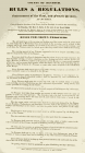 'Rules and Regulations for the Government of...