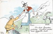Postcard: 'Climbed Snowdon yesterday'...