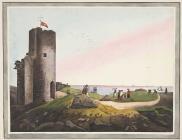 'Aberystwith Castle',  yn ôl pob tebyg gan yr...