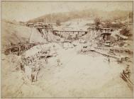 Building the Vyrnwy dam, July 1882