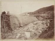 Building the Vyrnwy dam, June 1882