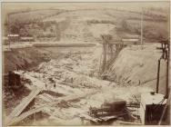 Building the Vyrnwy dam, 1882