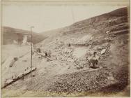 The Vyrnwy quarry, June 1886