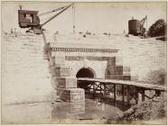 Building the Vyrnwy dam, June 1886