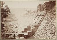 Building the Vyrnwy dam, June 1887