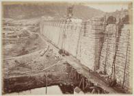 Building the Vyrnwy dam, c. 1887