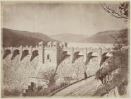 The completed Vyrnwy dam, c. 1889