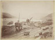 Building the Vyrnwy Dam, 1880s
