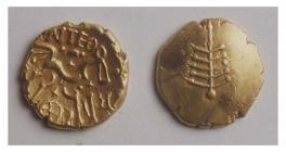 Dobunnic Gold Coin (Iron Age)
