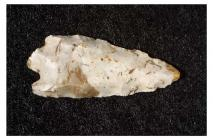 Bronze Age flint arrowhead from Caerwent