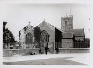 St. Peter's Church, Carmarthen, c. 1900