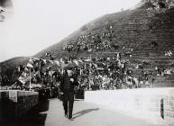Official opening of Dryslwyn Bridge, c. 1900