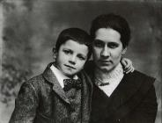 Photograph of Mrs Lloyd and William by J. F....