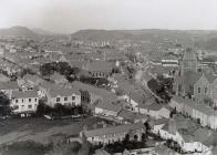 View of Carmarthen, taken from St. Davids...
