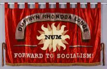 Banner of the Duffryn Rhondda Lodge of the...