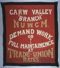 Banner for the Garw Valley branch of the...
