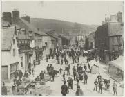 Fair Day in Newtown, c. 1880