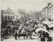 Fair Day in Newtown, 1880s