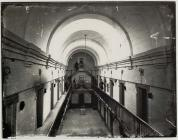 Interior of Montgomery county gaol, c. 1875