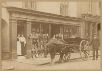 An ironmongery store in Welshpool, 1900s