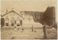 Castle Hotel, Brecon, 1870s
