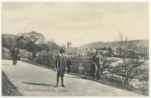 The Upper Promenade, Brecon, 1900s