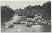 Pysgota eog ar Afon Gwy, 1900au