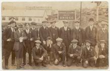 Great War volunteers at Llandrindod Wells, 1914