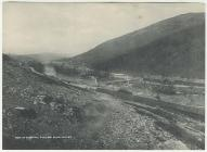 Elan Village, temporary home for dambuilders, c...