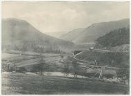 Elan Valley before the waterworks scheme, 1890s