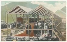 King Edward VII opening the Elan Valley...