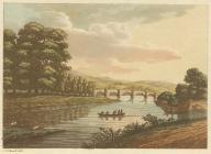 Glasbury bridge on the River Wye, 1797