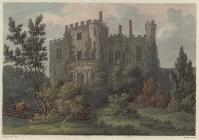 Engraving of Powis Castle, 1806