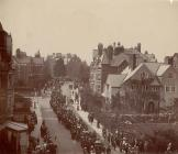 Church parade, Llandrindod Wells, c. 1910