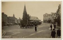Street scene, Llandrindod Wells, c. 1910