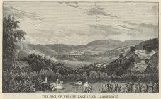 Llanwddyn village, lost beneath Lake Vyrnwy in...