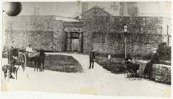Old county gaol,  Presteigne, c. 1896