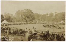 Country show at Penybont,  c. 1904