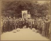 Eisteddfod Proclamation at Brecon, 1888